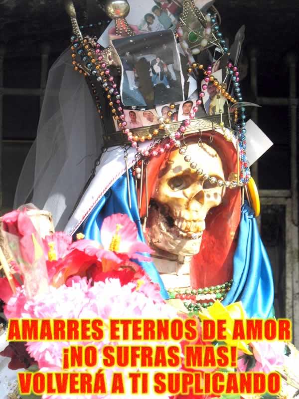santisima muerte recuperar al ser amado
